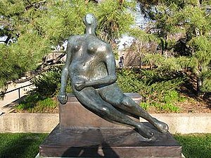 Seated Woman, 1957 - Image: Seated woman