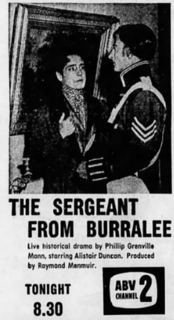 <i>The Sergeant from Burralee</i> 1961Australian television play