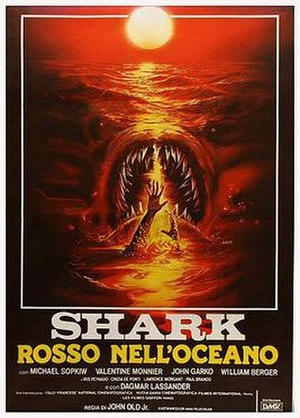 Monster Shark - Italian theatrical release poster by Enzo Sciotti