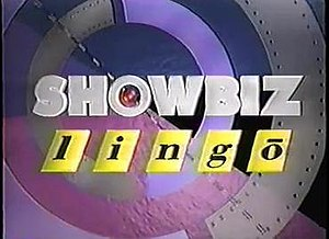 Showbiz Lingo - One of the logos used by Showbiz Lingo