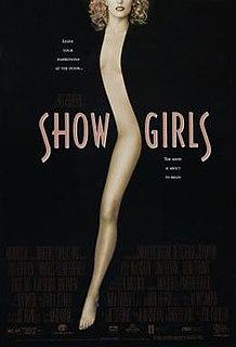 <i>Showgirls</i> 1995 film by Paul Verhoeven