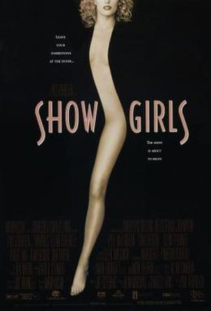 Showgirls - Theatrical release poster