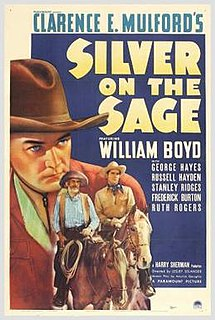 <i>Silver on the Sage</i> 1939 film by Lesley Selander