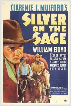 Silver on the Sage - Theatrical release poster