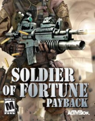 Soldier of Fortune: Payback - Image: Soldier of Fortune Payback Game Cover