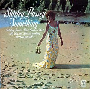 Something (Shirley Bassey album) - Image: Something Shirley Bassey