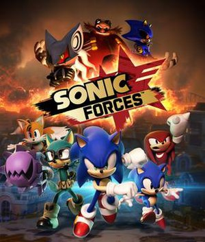 Sonic Forces - Image: Sonic Forces Artwork