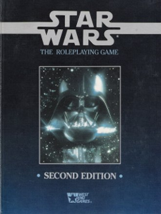 Star Wars: The Roleplaying Game - Image: Star Wars The Roleplaying Game Second Edition 1992