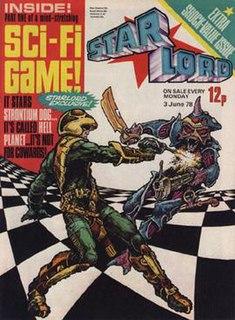 <i>Starlord</i> (comics) British science fiction comic