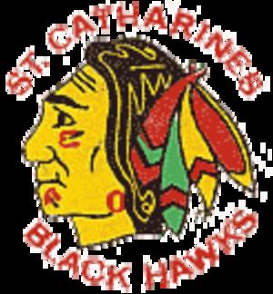 St. Catharines Black Hawks - Image: Stcblackhawks