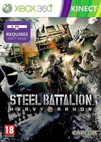 Steel Battalion: Heavy Armor - European cover art