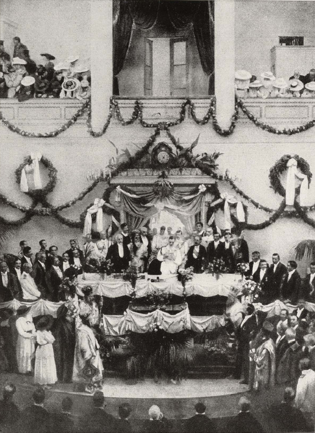 Swearing-in ceremony of Alexander of Greece