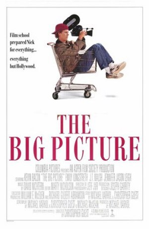 The Big Picture (1989 film) - Theatrical release poster