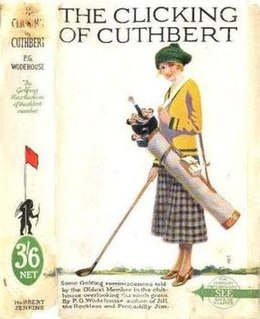 <i>The Clicking of Cuthbert</i> 1922 short story collection by P.G. Wodehouse