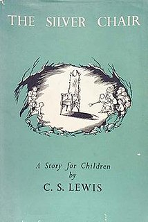 <i>The Silver Chair</i> childrens fantasy novel by C. S. Lewis, 1953