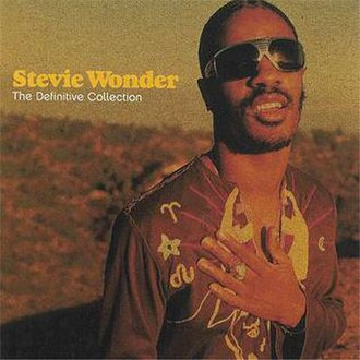The Definitive Collection (Stevie Wonder album) - Image: The Definitive Collection Front