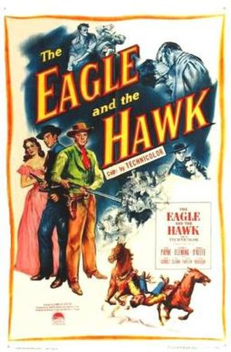 The Eagle and the Hawk (1950 film) - Theatrical release poster