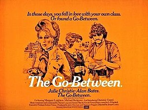 The Go-Between (1971 film) - Original British quad format poster