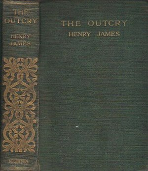 The Outcry - First edition (UK)