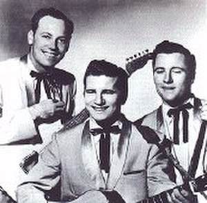 Paul Burlison - The Rock and Roll Trio, from left to right, Paul Burlison, Johnny Burnette, and Dorsey Burnette.