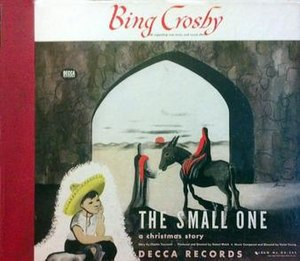 The Small One (album) - Image: The Small One (Bing Crosby album) album cover