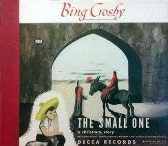 The Small One (album) - Image: The Small One (Bing Crosby album) album cover
