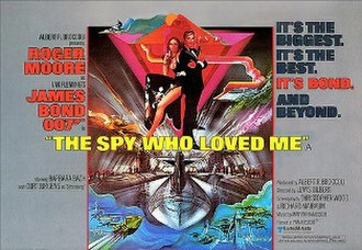 The Spy Who Loved Me (film) - Image: The Spy Who Loved Me (UK cinema poster)