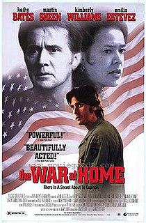 <i>The War at Home</i> (1996 film) 1996 film by Emilio Estevez