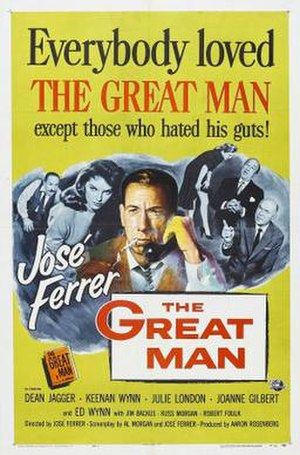 The Great Man - Image: The poster of the movie The Great Man