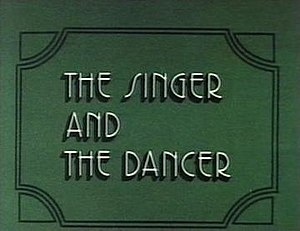 The Singer and the Dancer - Image: The singer and the dancer movie poster