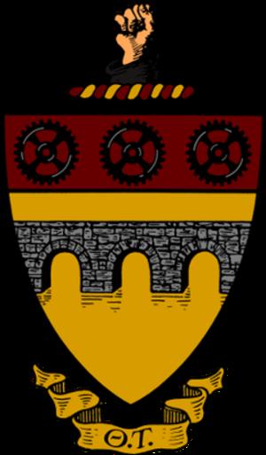 Theta Tau - The crest of ΘΤ