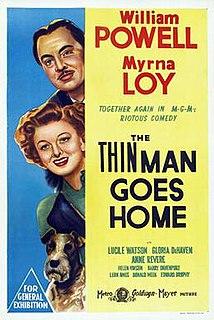 <i>The Thin Man Goes Home</i> 1945 film by Richard Thorpe
