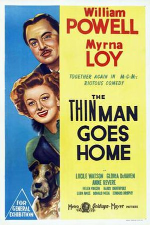 The Thin Man Goes Home - Theatrical Film Poster