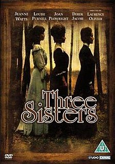 <i>Three Sisters</i> (1970 film) 1970 film by Laurence Olivier, John Sichel