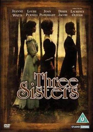 Three Sisters (1970 Olivier film) - DVD Cover