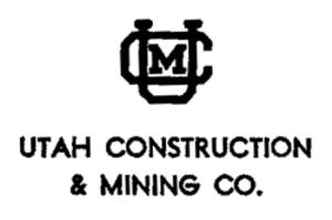 Utah Construction Company - Utah Construction Logo from 1959 - 1970