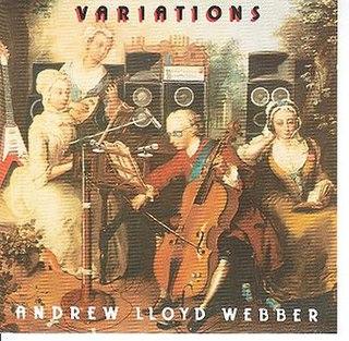 <i>Variations</i> (Andrew Lloyd Webber album) 1978 studio album by Andrew and Julian Lloyd Webber