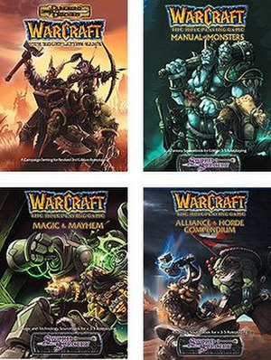 Warcraft: The Roleplaying Game - Image: Warcraft rpg boosk