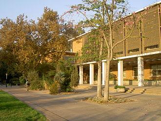University of California, Riverside academics - Webber Hall