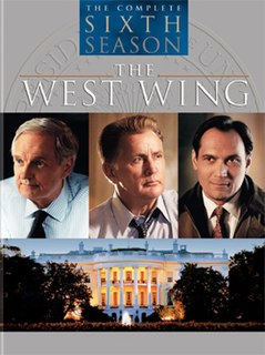 <i>The West Wing</i> (season 6) season of television series