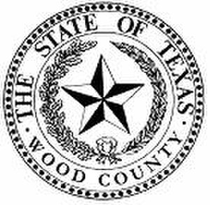 Wood County, Texas - Image: Wood County tx seal