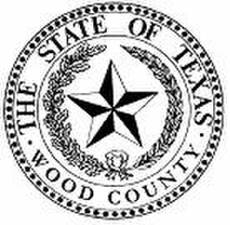 Wood County, Texas - Image: Wood County tx seal