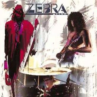 Live (Zebra album) - Image: ZEBRA LIVE