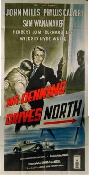 Mr. Denning Drives North - UK theatrical poster