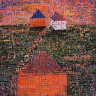 Jennifer Bartlett - 'Houses', serigraph by Jennifer Bartlett, 2005