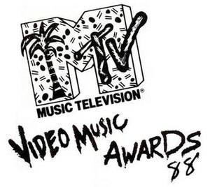1988 MTV Video Music Awards - Image: 1988 mtv vma logo