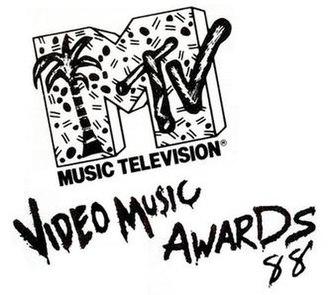 1988 MTV Video Music Awards - Image: 1988 mtv vma logo