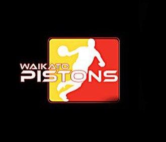 Waikato Pistons - Image: 2013 Waikato Pistons logo