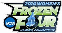 2014 Women's Frozen Four logo