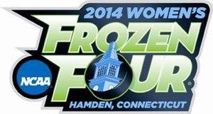 2014 NCAA National Collegiate Women's Ice Hockey Tournament - 2014 Women's Frozen Four logo